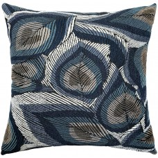 EvZ Homie Pillow Covers Heavy Cloth Decorative Pillow Case for Home Room Outdoor Cafe Decor Gift, Square, 18 X 18 inch, Metallic Luster Plant E