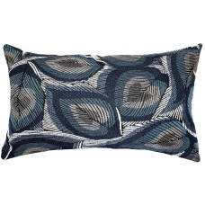 EvZ Homie Pillow Covers Heavy Cloth Decorative Pillow Case for Home Room Outdoor Cafe Decor Gift, Square, 20 X 12 inch, Metallic Luster Plant E