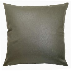 EvZ Homie Pillow Covers Heavy Leather Cloth Decorative Pillow Case for Home Room Outdoor Cafe Decor Gift, Square, 18 X 18 inch, Green