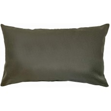 EvZ Homie Pillow Covers Heavy Leather Cloth Decorative Pillow Case for Home Room Outdoor Cafe Decor Gift, Square, 20 X 12 inch, Green