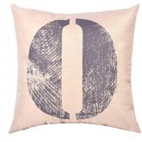 EvZ Homie Pillow Covers Letter Decorative Throw Pillow Case Home Decor Design Gift Square, 18 X 18 inch, Graffiti Paint, O