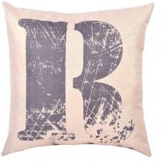 EvZ Homie Pillow Covers Letter Decorative Throw Pillow Case Home Decor Design Gift Square, 18 X 18 inch, Graffiti Paint, R