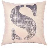 EvZ Homie Pillow Covers Letter Decorative Throw Pillow Case Home Decor Design Gift Square, 18 X 18 inch, Graffiti Paint, S