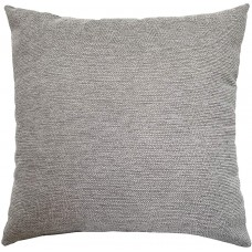 EvZ Homie Pillow Covers Water Oil Proof Heavy Cloth Decorative Case for Home Room Outdoor Cafe Decor Gift, Square, 18 X 18 inch, Gray Mixture