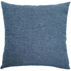 EvZ Homie Pillow Covers Water Oil Proof Heavy Cloth Decorative Case for Home Room Outdoor Cafe Decor Gift, Square, 18 X 18 inch, Blue Mixture