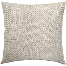EvZ Homie Pillow Covers Water Oil Proof Heavy Cloth Decorative Case for Home Room Outdoor Cafe Decor Gift, Square, 18 X 18 inch, Creamywhite Pattern