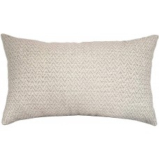 EvZ Homie Pillow Covers Water Oil Proof Heavy Cloth Decorative Case for Home Room Outdoor Cafe Decor Gift, Square, 20 X 12 inch, Creamywhite Pattern