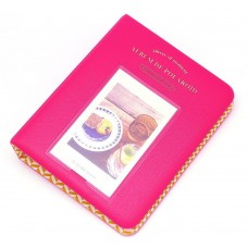 EvZ 64 Pockets Photo Album for Mini Fuji Instax Polaroid & Name Card Rose