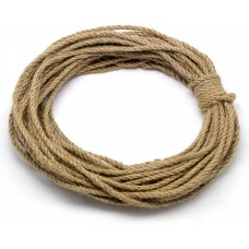 Natural Jute Twine Durable Industrial Packing Materials Heavy Duty Natural Brown Twine Jute Rope/String 55ft/17m for Arts, Crafts & Gardening Applications