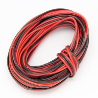 EvZ 20AWG 66ft 20m Extension Cable Wire Cord for Led Strips Single Colour 3528 5050