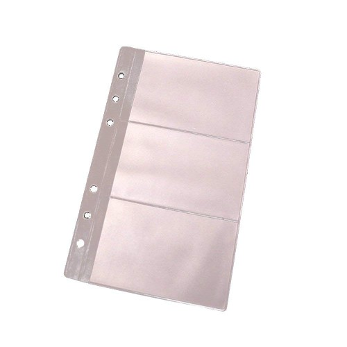 evz card holder for 7 inches journal organizer diary a6 notepad