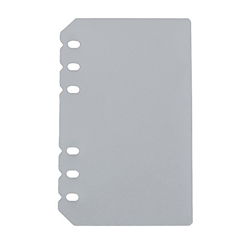 evz transparent flyleaf for 7 inches journal organizer diary a6